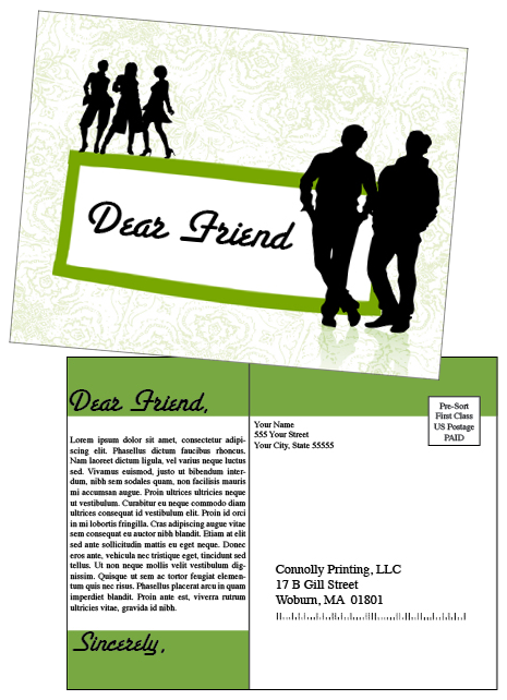 dear friend card